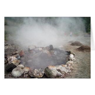 Furnas hot springs card