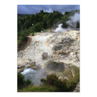 Furnas hot springs card