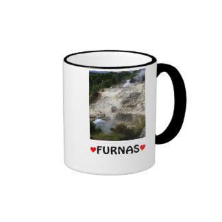 Furnas hot springs coffee mugs