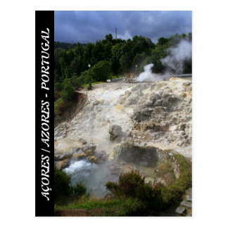Furnas hot springs postcards