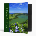 Furnas Lake, Azores Vinyl Binder