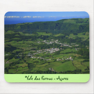 Furnas Valley - Azores Mouse Pad