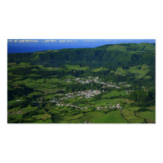Furnas Valley, Azores - pocket calendar Double-Sided Standard Business Cards (Pack Of 100)