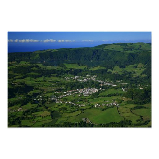 Furnas Valley - Azores Poster