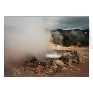 Furnas Volcano Card