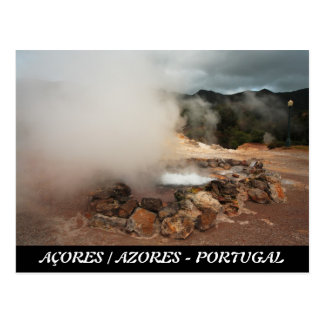 Furnas Volcano Postcard