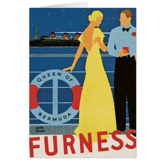 Furness ~ Queen of Bermuda Card