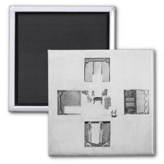 Furnishings for a small drawing room magnet