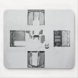 Furnishings for a small drawing room mouse pad
