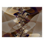 Furniture 2 Abstract Art Poster