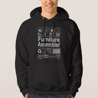 Furniture Assembler Hoodie