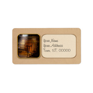 Furniture - Chair - Forgotten Memories Address Label
