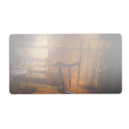 Furniture - Chair - Forgotten Memories Label