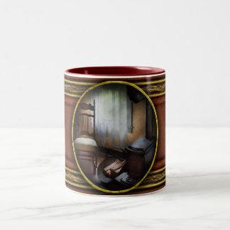 Furniture - Chair - Happiness is a warm seat Two-Tone Coffee Mug