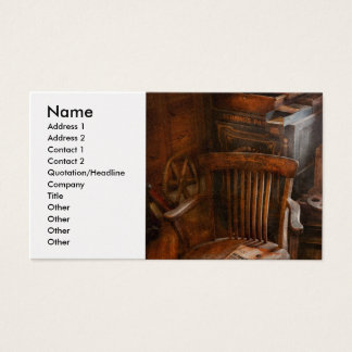 Furniture - Chair - The engineers office Business Card