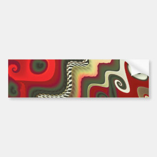 Furniture Fine Fractal Art Bumper Sticker