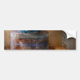 Furniture - Hat boxes with billow Car Bumper Sticker