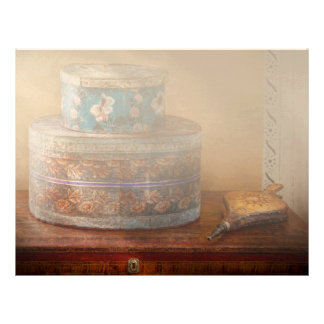 Furniture - Hat boxes with billow Letterhead