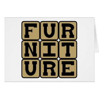 Furniture, Housewares Card