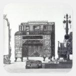 Furniture in the Grecian Style Square Sticker