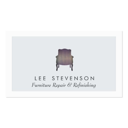 Furniture Repair And Refinishing Business Card Zazzle