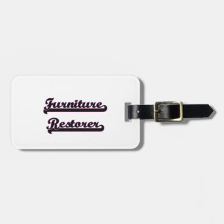 Furniture Restorer Classic Job Design Tags For Luggage