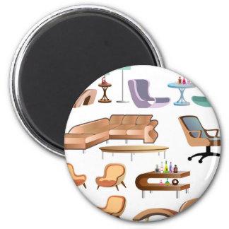 Furniture_Set_Collection Magnet