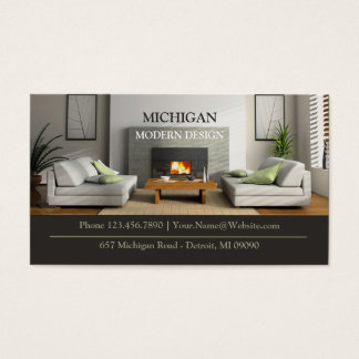 Furniture Store Business Card