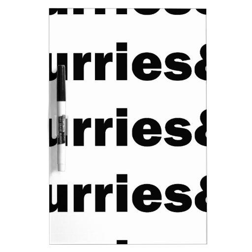 Furries& Pizarra Blanca