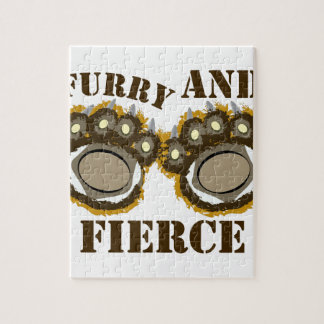 Furry And Fierce Jigsaw Puzzles