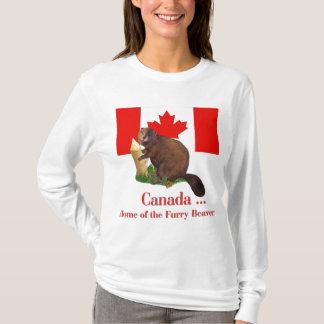 Furry Beaver T-Shirt