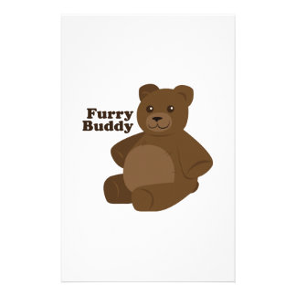 Furry Buddy Stationery