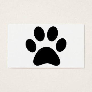 Furry business card