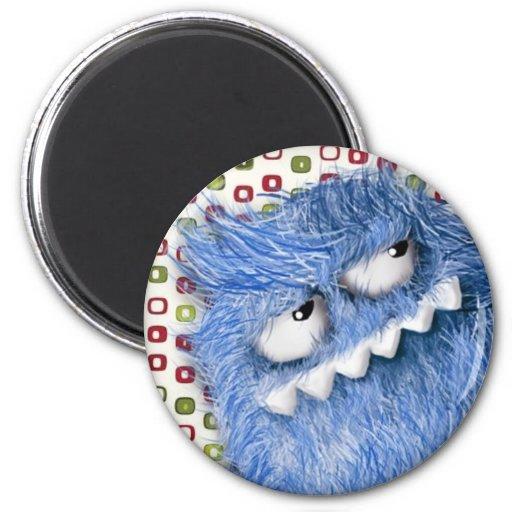 Furry Cool Monster Fridge Magnet