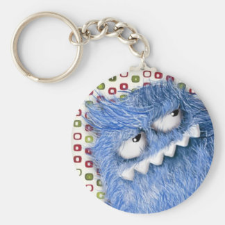 Furry Cool Monster Keychain