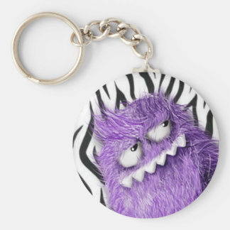 Furry Cool Monster Keychains