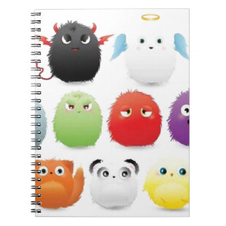 Furry creatures note books