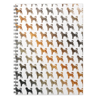 Furry Dogs Notebook