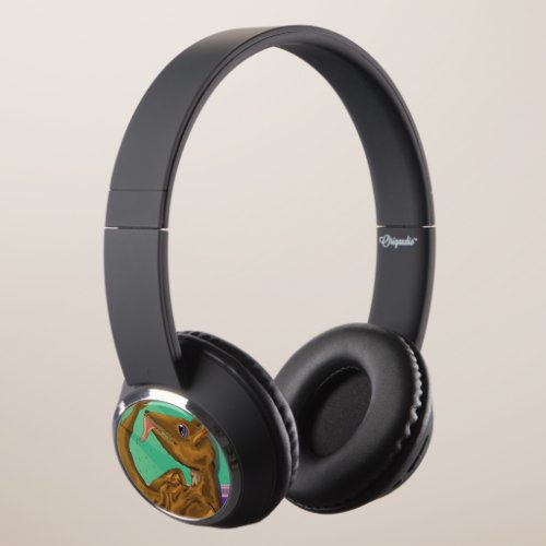 Furry Dragon Headphones