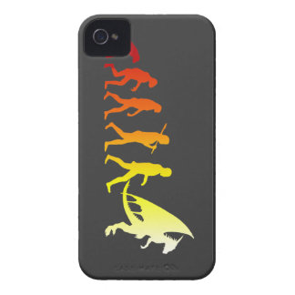 Furry evolution iPhone 4 cover