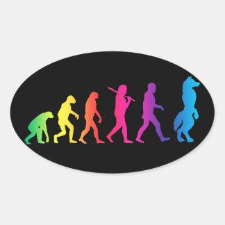 Furry evolution stickers