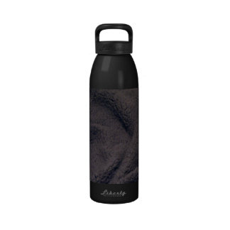 Furry fabric drinking bottles