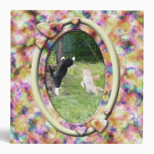 Furry Family Album 3 Ring Binder