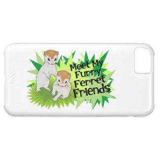 Furry Ferret Friends Case For iPhone 5C