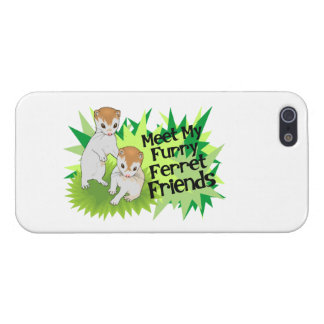 Furry Ferret Friends Covers For iPhone 5