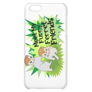 Furry Ferret Friends iPhone 5C Cases