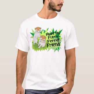 Furry Ferret Friends Tee Shirt