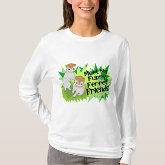 Furry Ferret Friends TShirt