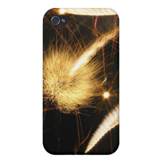 Furry Flames iPhone 4 Case