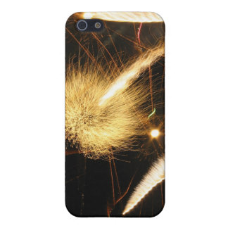 Furry Flames iPhone SE/5/5s Cover